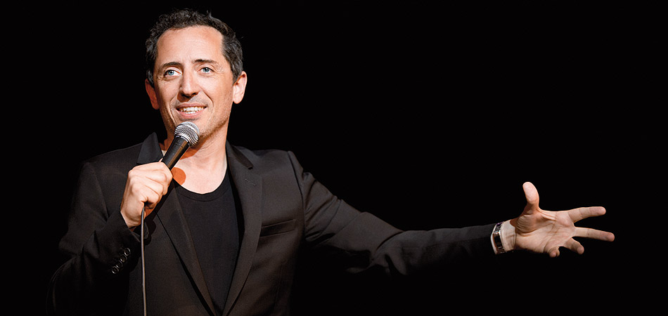 Gad Elmaleh with a weight of 72 kg and a feet size of N/A in favorite outfit & clothing style